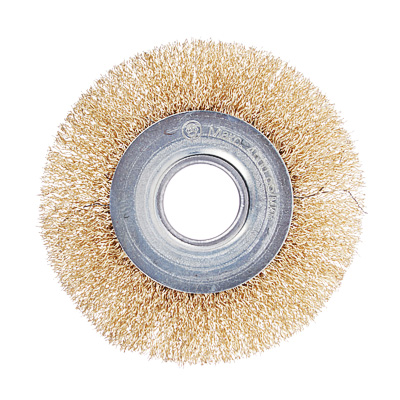 656-054 ЕРМАК Щетка металл. для УШМ 100мм/22мм, плоская