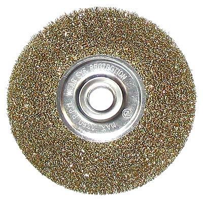 656-057 ЕРМАК Щетка металл. для УШМ 175мм/22мм, плоская