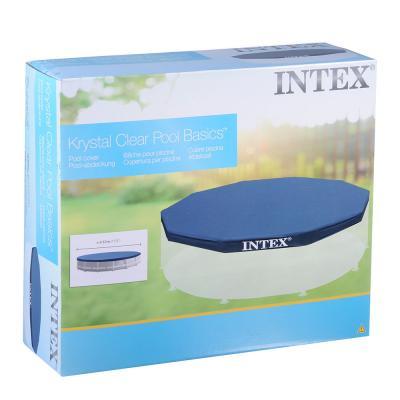 359-022 Крышка для бассейна, круглая, d457 см, веревочное крепление, INTEX, 58901/28032