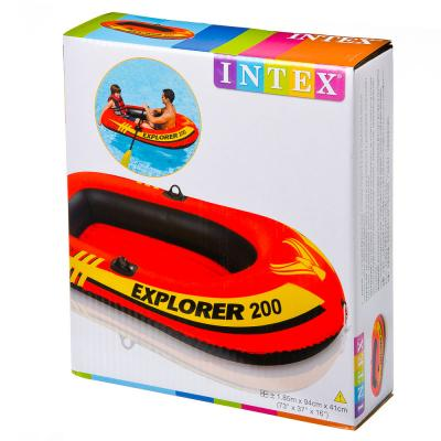 359-025 INTEX Лодка надувная Explorer 200, 185x94x41см, до 95кг от 6 лет 58330