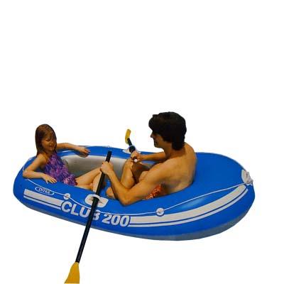 359-028 INTEX Лодка Club 200 (95кг) 2 камеры, 185*94*41см 58321