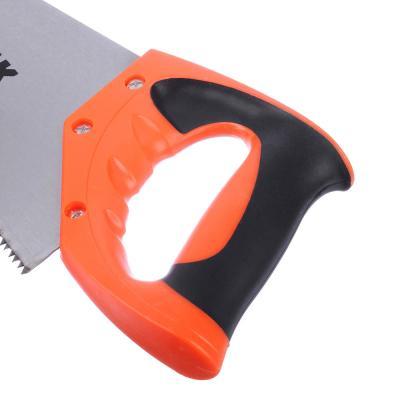 663-005 ЕРМАК Ножовка по дереву, двустор.заточка, 350мм, закаленный зуб
