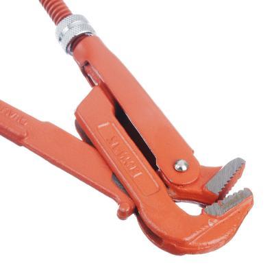 """655-009 ЕРМАК Ключ трубный рычажный прямые губы, р-р 3/4"""""""