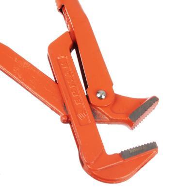 """655-012 ЕРМАК Ключ трубный рычажный прямые губы, р-р 2"""""""