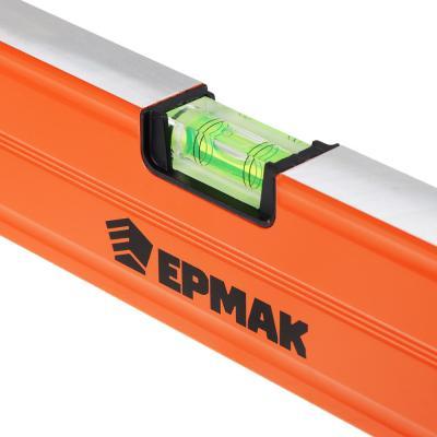 659-011 ЕРМАК Profi уровень магнитный с фронтальным глазком 120см.