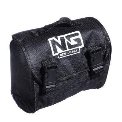 713-007 NEW GALAXY Компрессор автомобильный, штекер прикур, LED фонарь, в сумке, 12V, 140W, 35 л/мин, металл