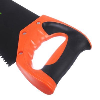 663-012 ЕРМАК Ножовка по дереву 10С, 400мм, с переменным зубом (Тефлон)