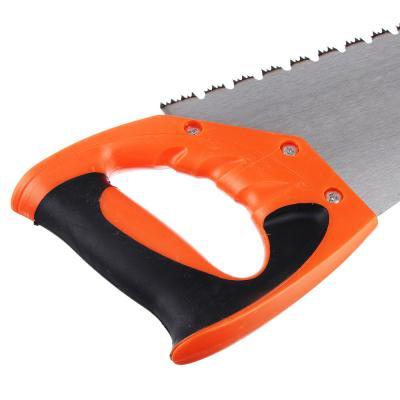 663-015 ЕРМАК Ножовка по дереву D, 400мм, (для сырой древесины). закален. зуб, двуст.заточка