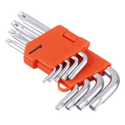 657-023 ЕРМАК Набор ключей TORX-профиль 9пр. (50х3мм-125х9мм)