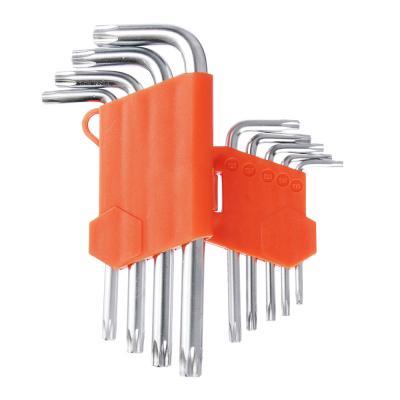 657-024 ЕРМАК Набор ключей TORX-профиль 9пр. (75х3мм-170х9мм)
