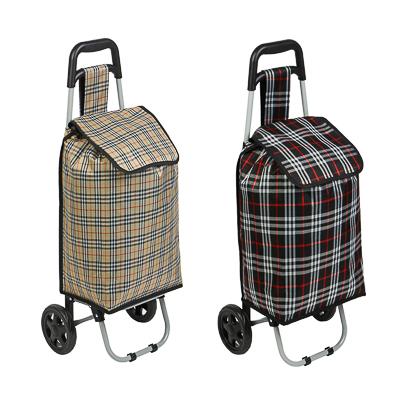 467-016 Тележка + сумка, грузоподъемность до 30кг, брезент, ЭВА, 36х28х86см, колесо d15см, ZZ 402-7