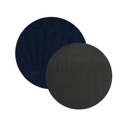 466-017 VETTA Коврик в прихожую с резиновой каймой, полиэстер, резина, 50х80см, 4 цвета, CR001