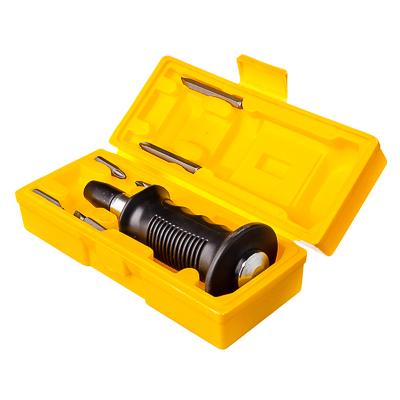 651-145 ЕРМАК Отвертка ударно-поворотная PROFI с резиновой ручкой