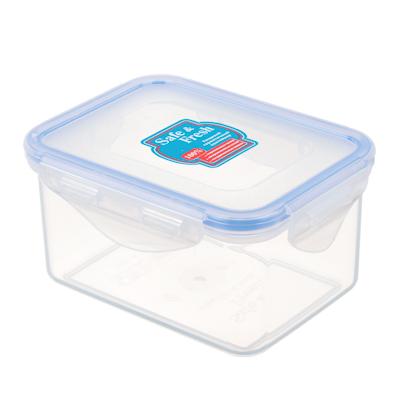 845-015 ТЕК Контейнер пищевой с защелками 470мл. 10,2х13,5х6,8см. SF2-2 К80