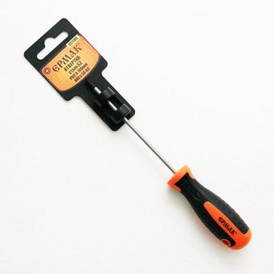 Отвертка крестовая с двухкомпонентной ручкой PH0*100 мм S2