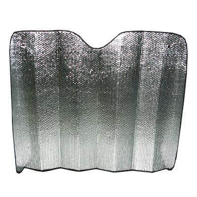 718-092 NEW GALAXY Шторка солнцезащитная на лобовое стекло, 130х90см, серебристая 119