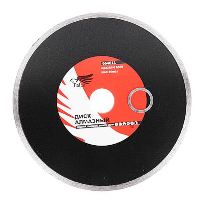 664-011 FALCO Диск алмазный отрезной сплошной 180х25,4мм