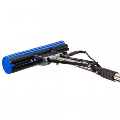 444-003 VETTA Швабра ПВА с изогнутой ручкой 110см, один ряд роликов, арт. J010