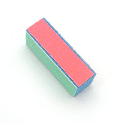305-294 Бафик-мини для полировки ногтей 4-хсторонний, латекс, 108