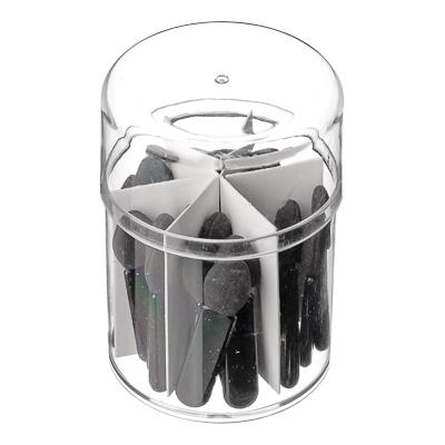 305-300 Набор аппликаторов 2-х сторонние 25шт, пластик, 4см, 114#