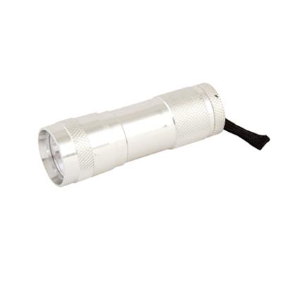 328-049 Фонарик металл со светодиодами 1512-3С 3LED 3R3
