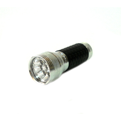 328-052 Фонарик металл со светодиодами А103-9С 9LED 3R3