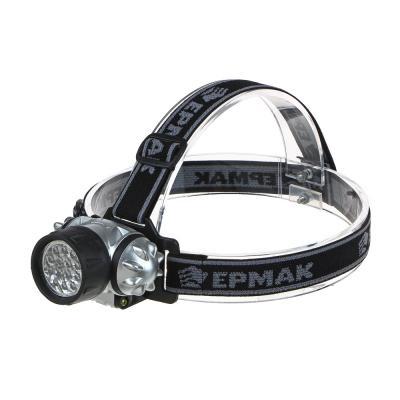 328-072 ЧИНГИСХАН Фонарь налобный 14 ярк. LED, 3xAAA, 6х4,2 см