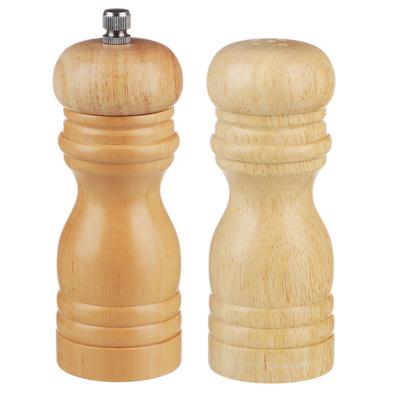 827-018 Набор для специй мельница 14 см + солонка 13 см VETTA, дерево