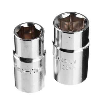 766-080 ЕРМАК Ключ баллонный телескопический со сменными головками 17/19, 21/23мм