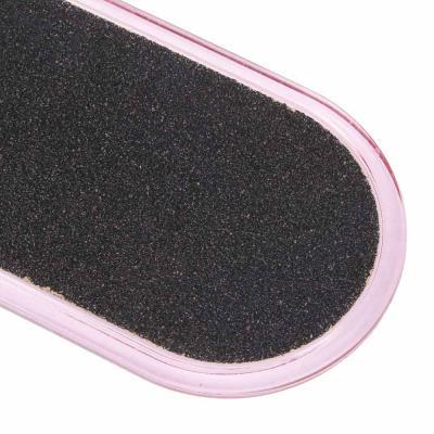 305-312 Терка для ног 2-х сторонняя, 26см, наждачная основа, пластик, C-25