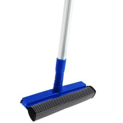 444-020 VETTA Окномойка с телескопической ручкой 110см, синяя, арт.KFC004