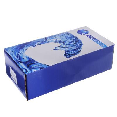 566-001 Смеситель Klabb 0104-486 для ванны, дл. изогн. излив, керам. картридж 40 мм, хром