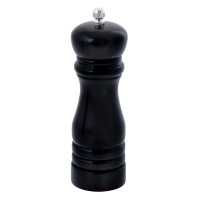 827-038 Мельница для специй деревянная черная 17 см VETTA