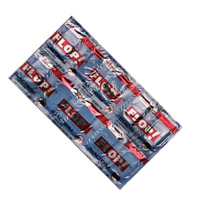 159-035 FLOP Пластины от комаров по 10шт, без запаха (арт.402-043)