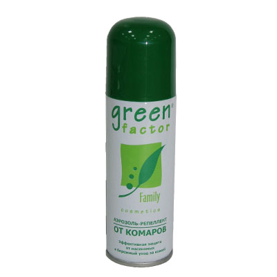 159-046 Green Factor Аэрозоль-репеллент 125мл (арт.402-101)