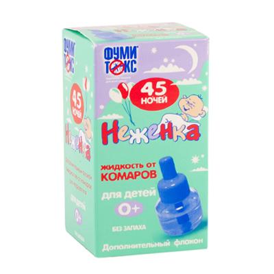 159-051 ФУМИТОКС Жидкость от комаров Неженка 45 ночей