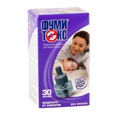 159-053 ФУМИТОКС Жидкость от комаров без запаха 30 ночей