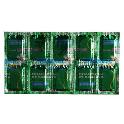 159-056 КОМАРИКОФФ Пластины от комаров 10 шт (ромашка)