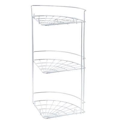478-054 Полка настенная, угловая, трёхъярусная, ARTEX Slim, арт.27.10.39