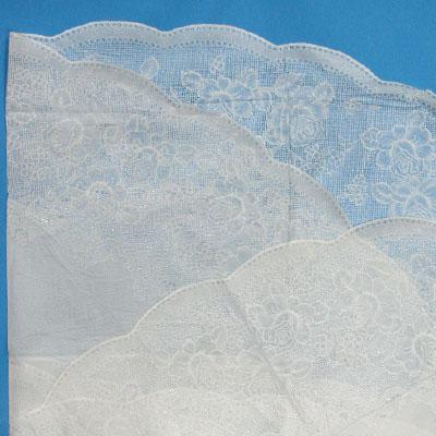 430-012 Скатерть на стол ажурная, круглая, пвх, 135см, VETTA