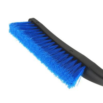 775-122 NEW GALAXY Щетка для уборки снега с распушенной щетиной+скребок, 62см