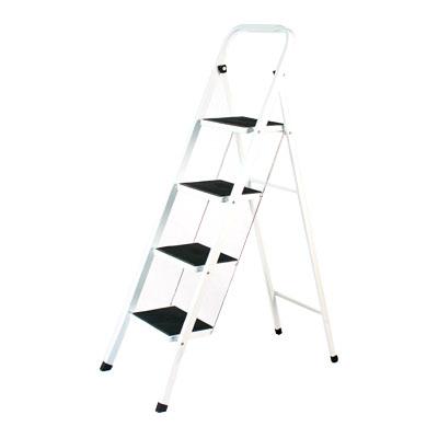 465-033 VETTA Стремянка для дома с антискольз. ступенями 4 ступ. высота 93см макс нагрузка 150кг. вес 7,66кг