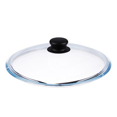 848-313 Крышка для сковороды d.26 см VGP, стеклянная, с ручкой