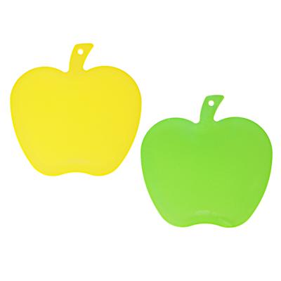 852-028 Доска разделочная в форме яблока VETTA, пластик, 26x25x0,3 см