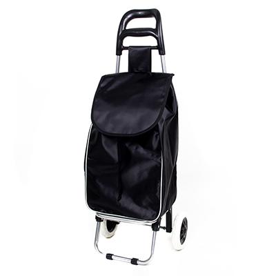 467-001 Тележка + сумка, грузоподъемность до 30кг, полиэстер,36х26х94см,колесо d16см, WQ-100