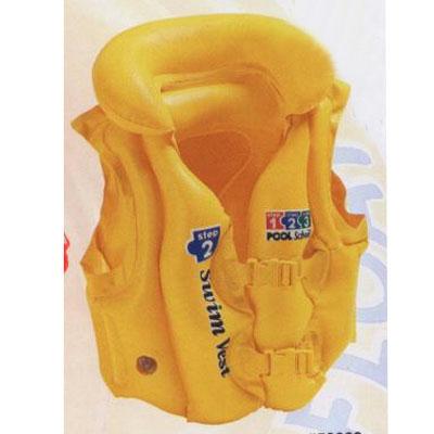 359-225 Жилет надувной для обучения плаванию, возраст от 3 до 6 лет, INTEX Delux, 58660