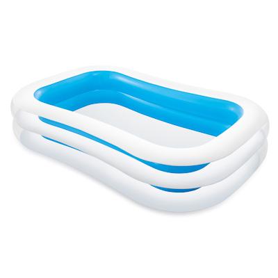 359-314 INTEX Бассейн надувной Ванна 262x175x56см 749л, рем комплект, от 6 лет 56483