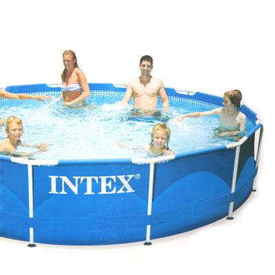 359-345 INTEX Бассейн каркасный Metal Frame 366x76см 6503л 28210