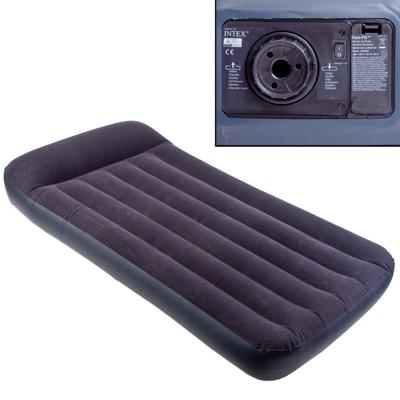 359-359 INTEX Кровать флок Pillow Rest Classic, 99x191x23см, встр. элнасос, 66779