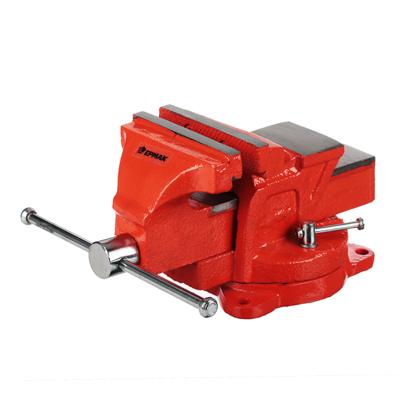 668-009 Тиски слесарные с поворотным механизмом 100мм
